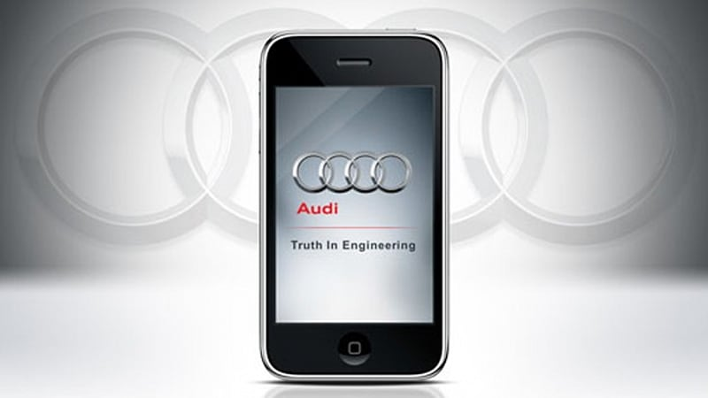 Audi introducing roadside assistant apps for iPhone, Android