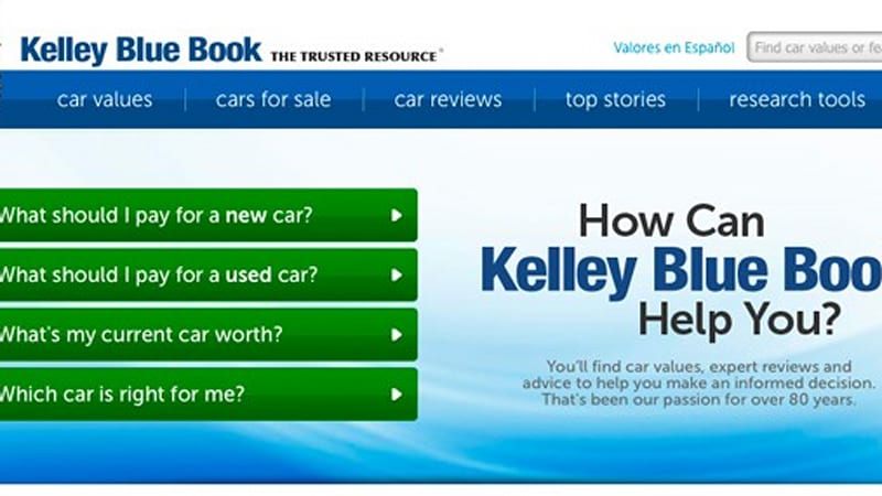 Kelley Blue Book Has A New Look