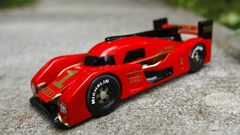 the coolest pinewood derby car to never race autoblog. Black Bedroom Furniture Sets. Home Design Ideas