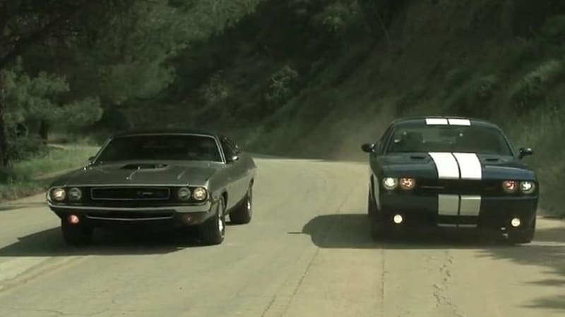 Motor Trend Compares Muscle Cars Past And Present Autoblog