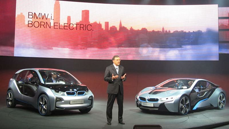 Official Bmw I3 And I8 Revealed Updated W Video Autoblog