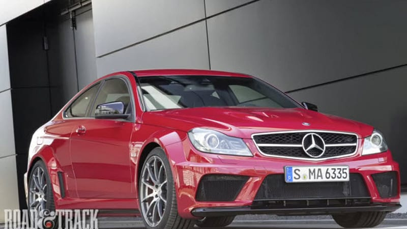 2012 Mercedes Benz C63 Amg Black Series Sounds Like The