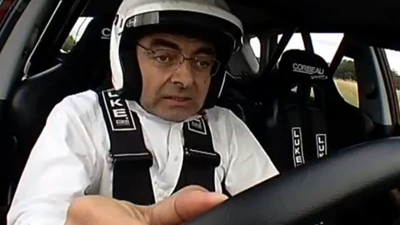 Rowan Atkinson Checks In With Top Gear Shows Off V16