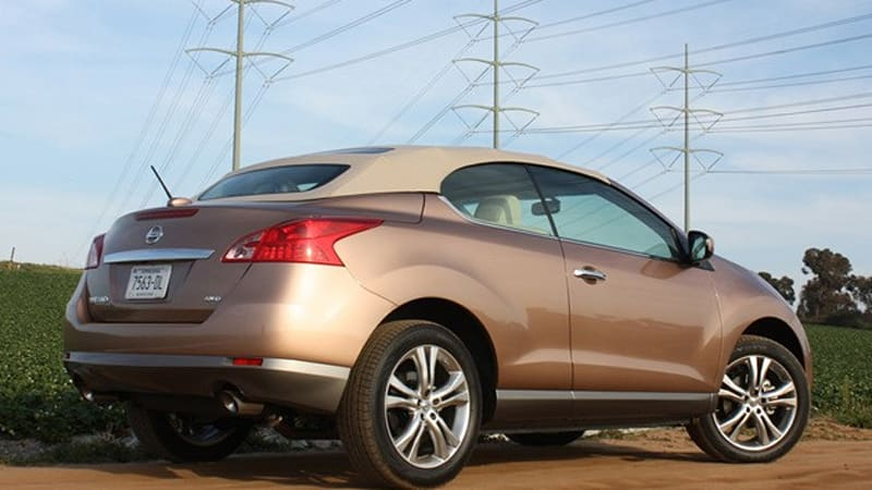 Nissan Murano Crosscabriolet Named Most Disliked Car Of 2011 Wpoll