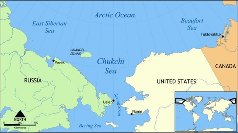 Road Trip Russia Approves Tunnel To Alaska Under Bering Strait - Alaska map russia