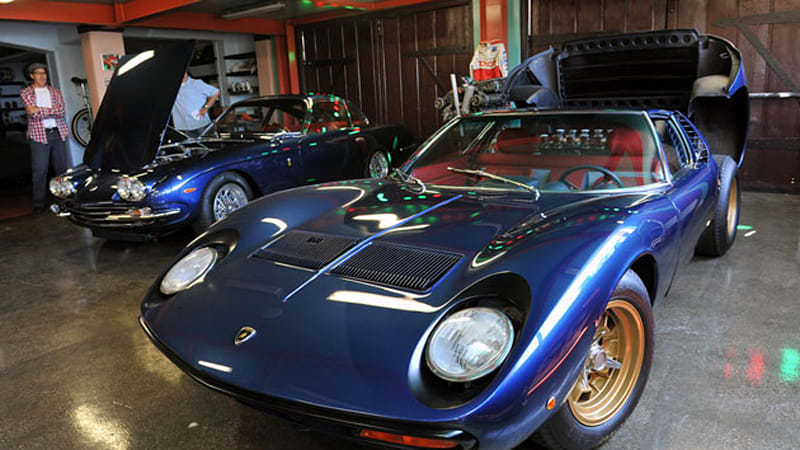 autoblog gets a peek inside adam carolla s private garage autoblog rh autoblog com