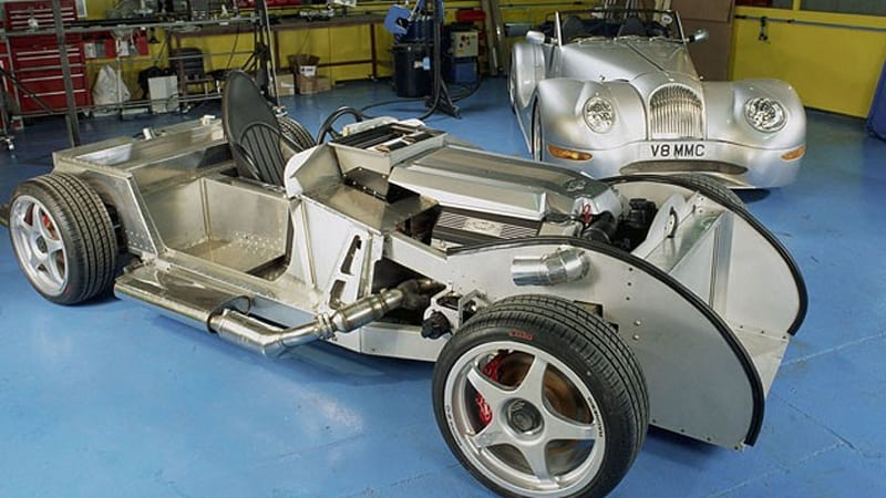 Morgan and friends converting Aero Supersport into all-electric ...