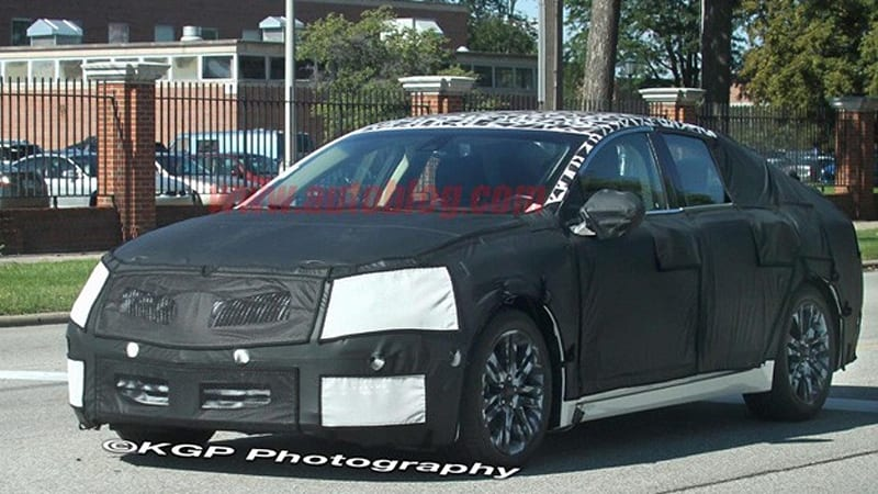 Lincoln Mkz Caught Camo Clad To Cover New Shape Autoblog