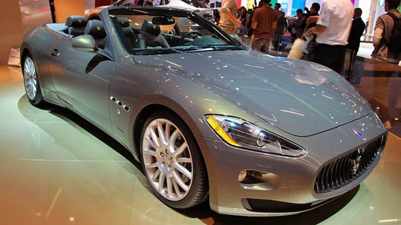 maserati grancabrio fendi edition is one rapid fashion accessory