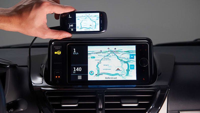 Toyota first to market with MirrorLink functionality in iQ