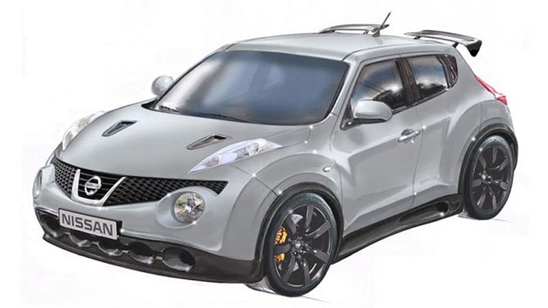 520 hp nissan juke r takes shape w video autoblog. Black Bedroom Furniture Sets. Home Design Ideas