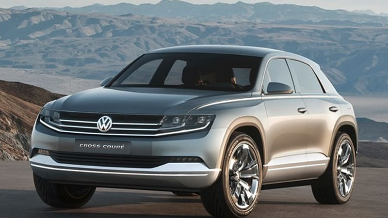 Volkswagen Cross Coupe Concept Hints At Future Suv Design
