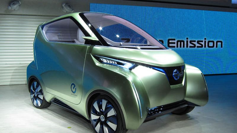 Nissan Pivo 3 Inches Closer To Production Autoblog