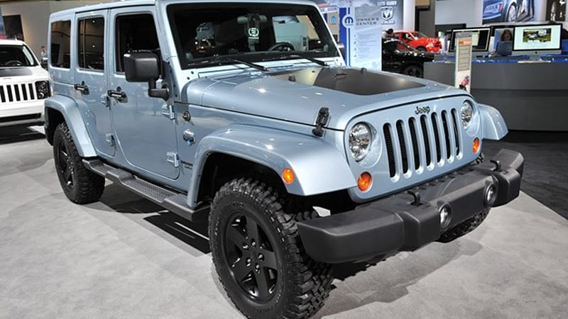 2012 Jeep Wrangler And Liberty Arctic Editions Chill Out In