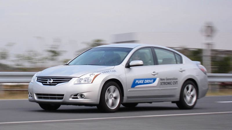 Nissan shows us its new and improved Continuously Variable