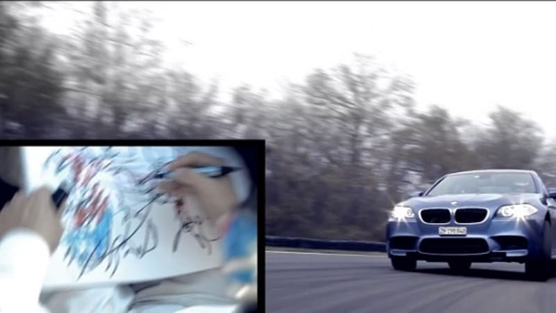 Bmw Makes A Christmas Card The M Way Autoblog