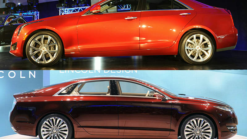Cadillac Is Getting Ready To Launch The Much Aned Rear Drive Ats And New Flagship Xts This Year Lincoln Mkz Concept Shown At Month S