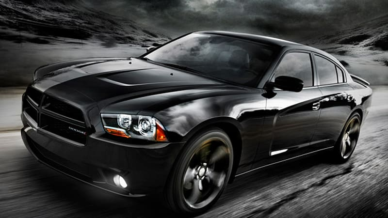2012 Dodge Charger Blacktop Goes Stealth At Ces Autoblog