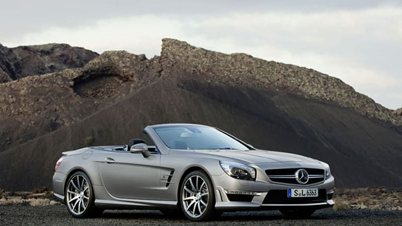 If You Like Lighter, Faster, And More Powerful Then You Have At Least Two  Things To Like About The New Mercedes Benz SL 63 AMG. It Gets A  537 Horsepower, ...