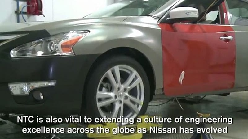 2013 nissan altima accidentally revealed in official video autoblog. Black Bedroom Furniture Sets. Home Design Ideas
