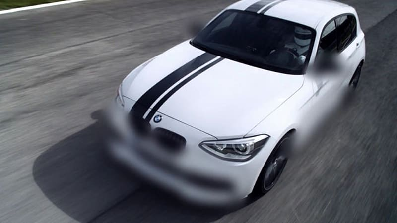 Bmw Goes Blurry Again In 1 Series M Performance Parts