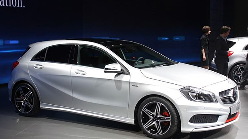 Mercedes Benz A Class Hatches New Level Of Refinement For Its