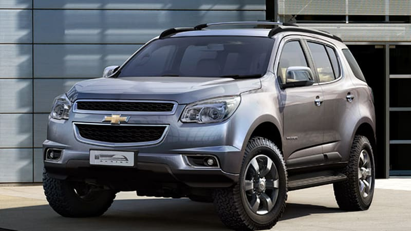Production 2013 Chevrolet Trailblazer Debuts No Plans For Us