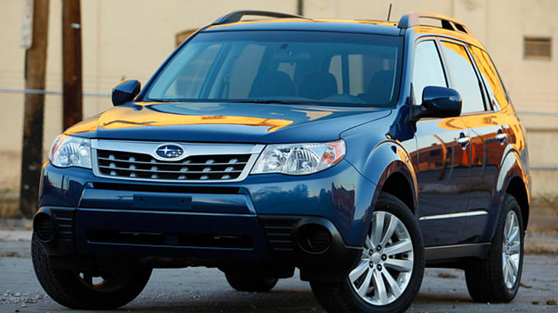 Subaru Recalling Almost 634 000 Cuvs Sedans For Possible Puddle Light Short