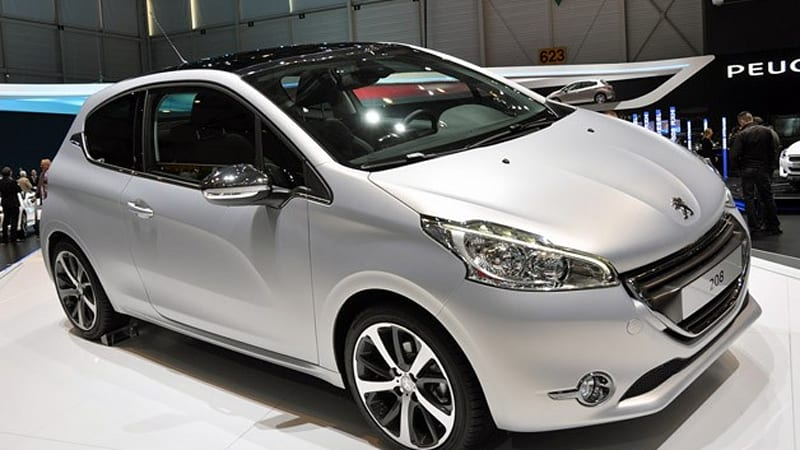 Peugeot Brings The 208 Party To Geneva Autoblog