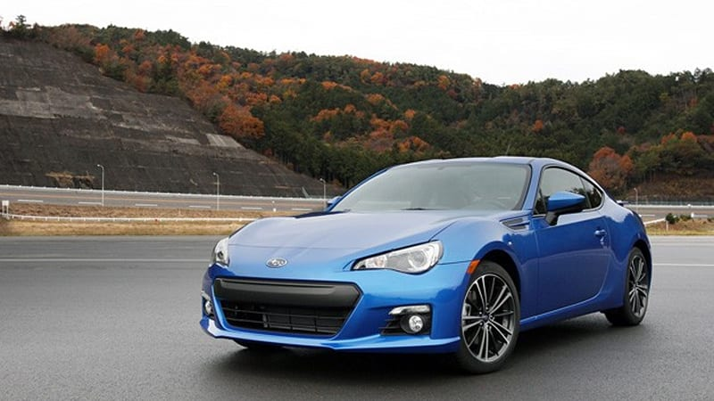 preorder now subaru only sending 6 000 brz coupes to u s in 2013 autoblog. Black Bedroom Furniture Sets. Home Design Ideas