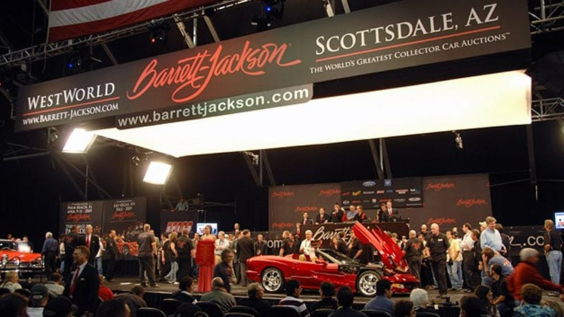 BarrettJackson To Build Permanent Million Facility In - Westworld scottsdale car show