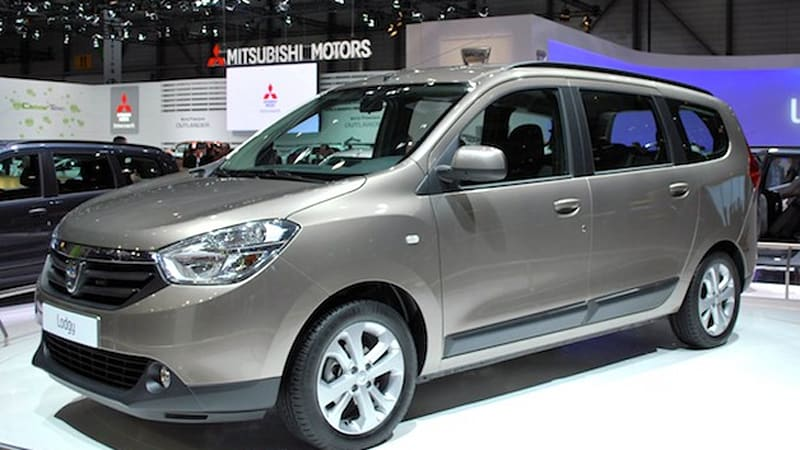 2012 dacia lodgy is a budget friendly mpv for europe autoblog. Black Bedroom Furniture Sets. Home Design Ideas