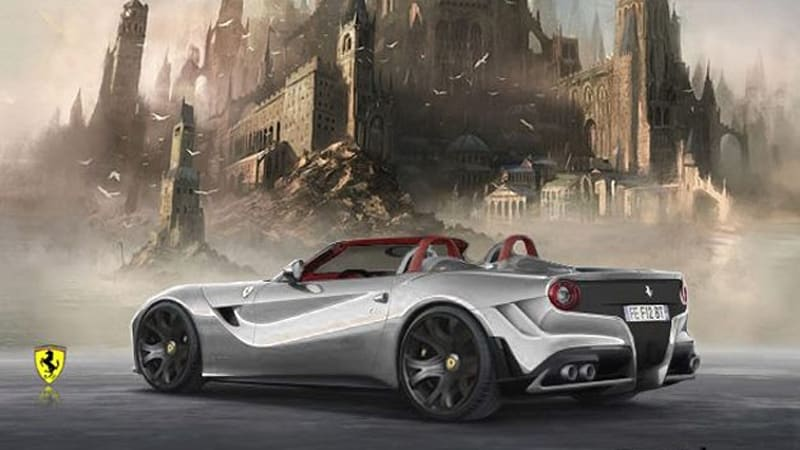 Since The Ink On Ferrari F12 Berlinetta Press Release Has Barely Had Time To Dry Yet Speculating A Convertible Variant Is Entirely Pre