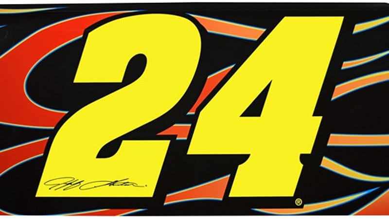 Itu0027s a well-known fact NASCAR fans will buy anything with their favorite driveru0027s number on it. NASCAR nuts can buy driver-themed replica car hoods ...  sc 1 st  Autoblog & Wallhaulers let you hang NASCAR door art on your wall - Autoblog