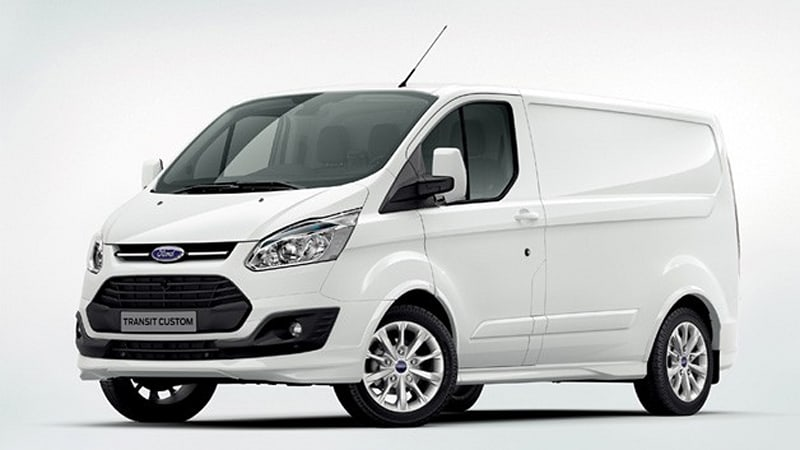 9f8a72262b1b76 European buyers now know what to expect from the Ford Transit Custom cargo  van. The work version of the van bowed at the Birmingham Commercial Vehicle  Show ...