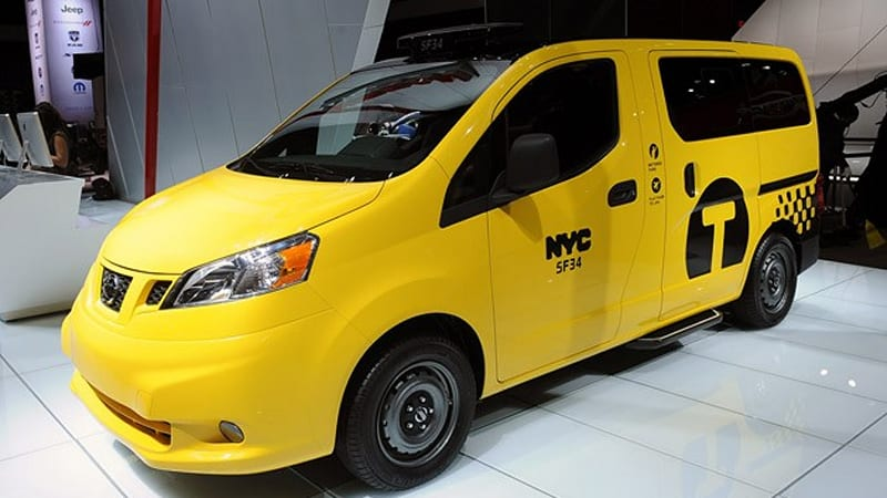 2014 Nissan Nv200 Taxi Brings Convenience Comfort Safety And