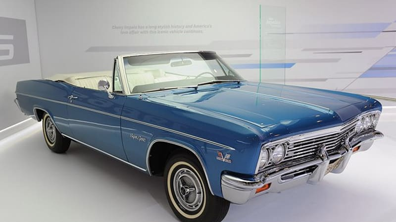 1966 Chevrolet Impala SS 427 Convertible reminds us of days