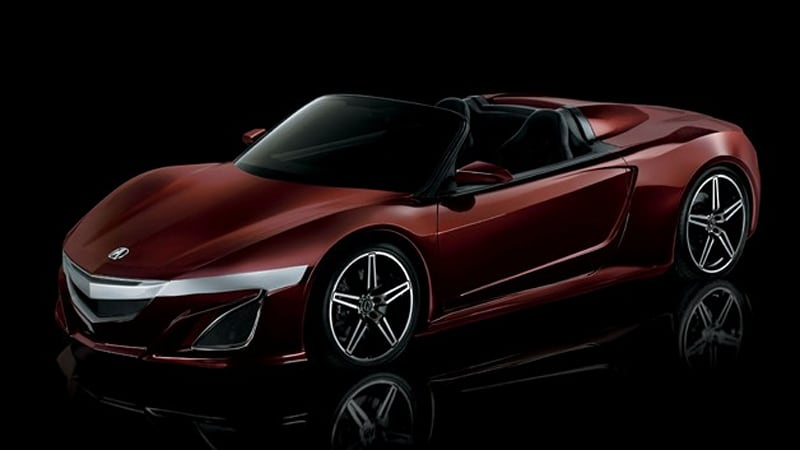 Acura Previews Tony Starks Nsx Roadster From The Avengers Autoblog