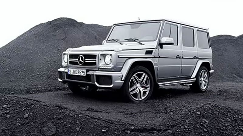2013 mercedes benz g63 amg mines excitement autoblog. Black Bedroom Furniture Sets. Home Design Ideas