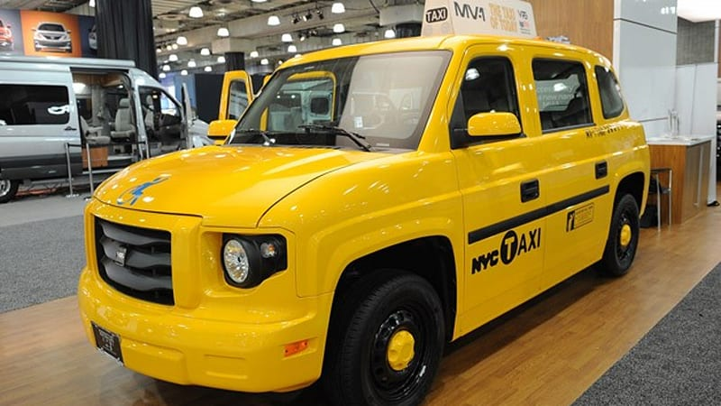 vpg autos mv 1 taxi will leave the light on for you autoblog. Black Bedroom Furniture Sets. Home Design Ideas