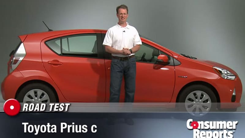 Consumer Reports Has Panned The 2012 Toyota Prius C In A New Video Review  That Urges Car Shoppers To Get A Used Regular Prius Over The New Baby  Model, ...
