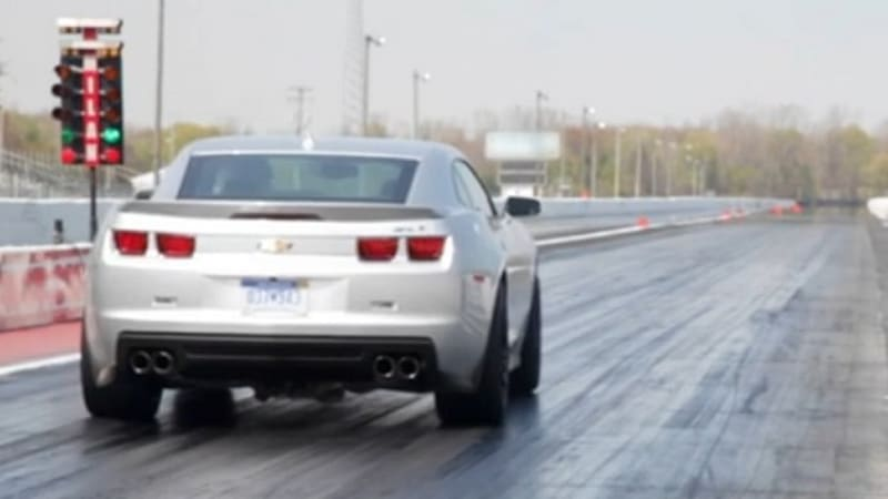 2012 Chevrolet Camaro Zl1 Runs Quarter Mile In 11 93 Seconds Update