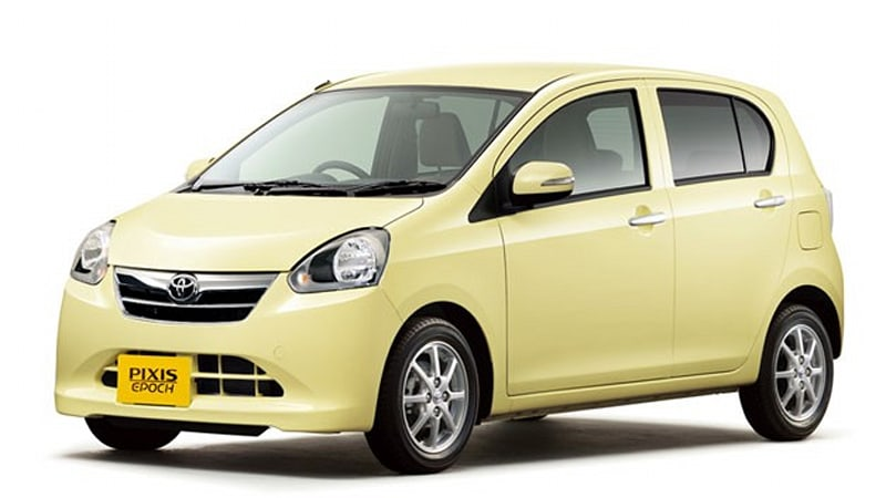 Toyota Launches New Pixis Epoch Kei Car In Japan Autoblog
