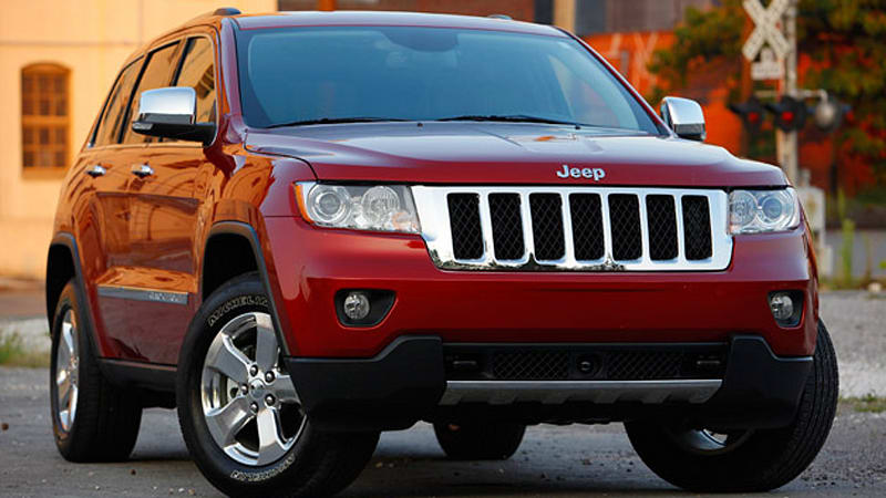 jeep grand cherokee to have short 2013 model year ahead of major updates autoblog. Black Bedroom Furniture Sets. Home Design Ideas