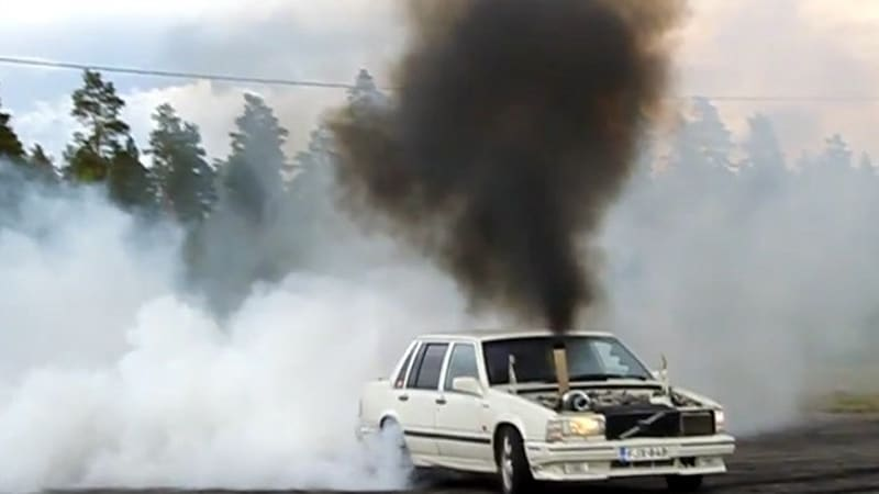 Are these the most epic diesel-powered burnouts ever? | Autoblog
