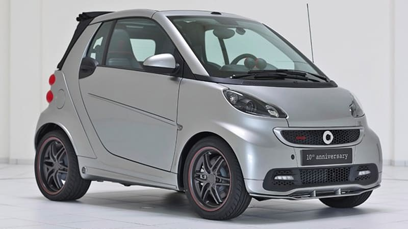 Smart And Brabus Celebrate 10 Years Together With Special Edition