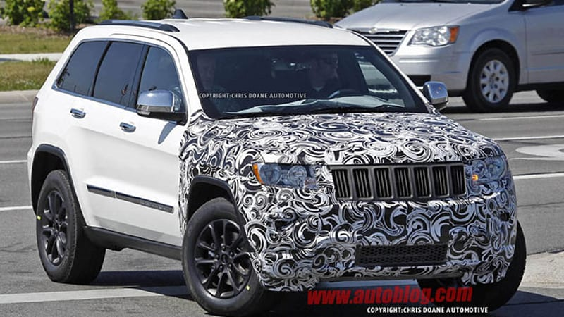 Updated 2014 Jeep Grand Cherokee spotted wearing new ...