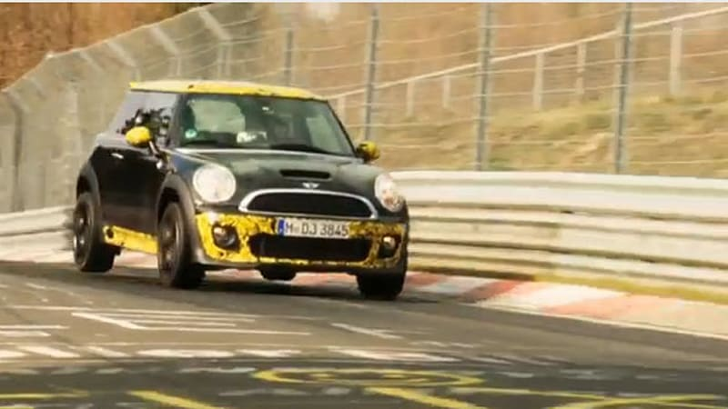 Watch Mini Jcw Gps Official Nürburgring Run Autoblog