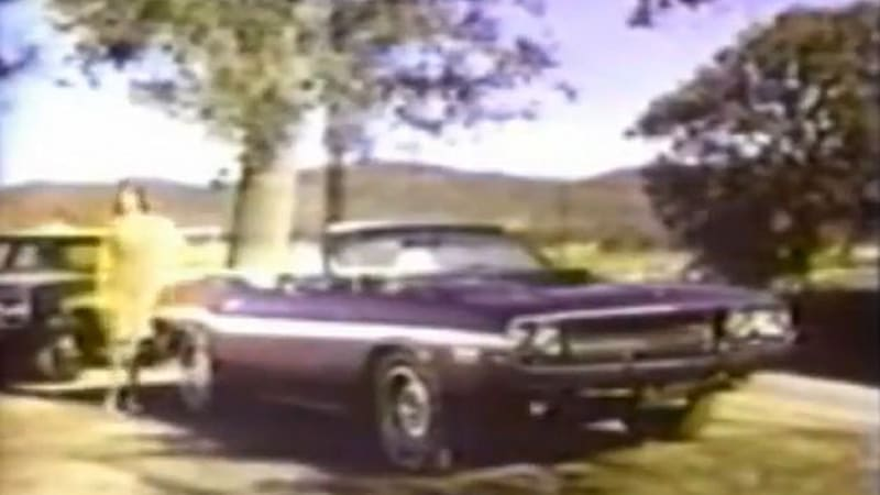 1970 Dodge Challenger R T Convertible Ad Channels Buford T Justice