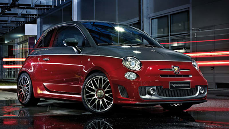 fiat augments 500 range with abarth 595 models autoblog. Black Bedroom Furniture Sets. Home Design Ideas